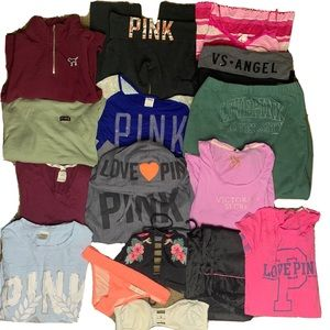 PINK Victoria's Secret xs/S 16 piece bundle